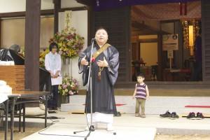開基400年記念「まちのお寺の感謝祭」 2日目その1